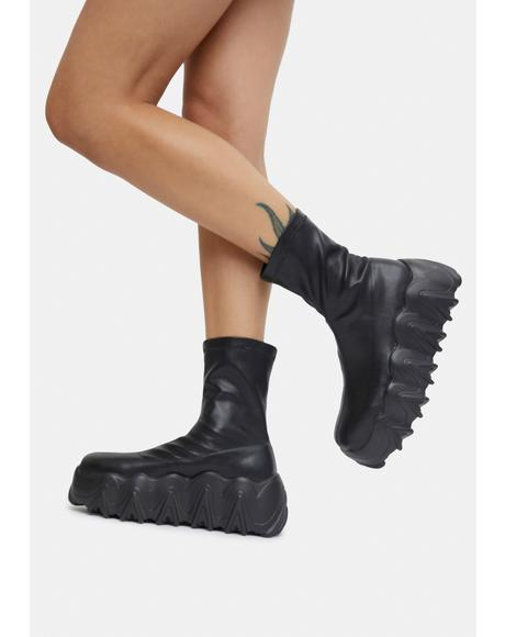 Aesthesia Chunky Ankle Boots