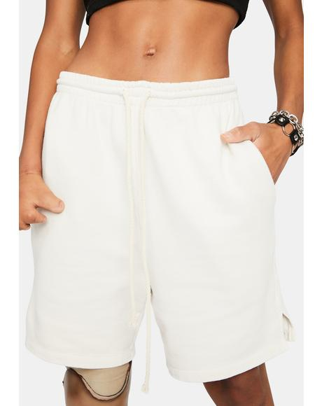 Ivory Plz Chill Lounge Shorts