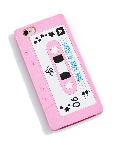 Love U Not Mixtape 6/6+ iPhone Case