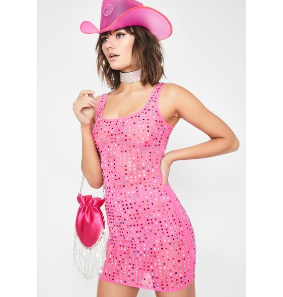 Jewel Drop Mini Dress