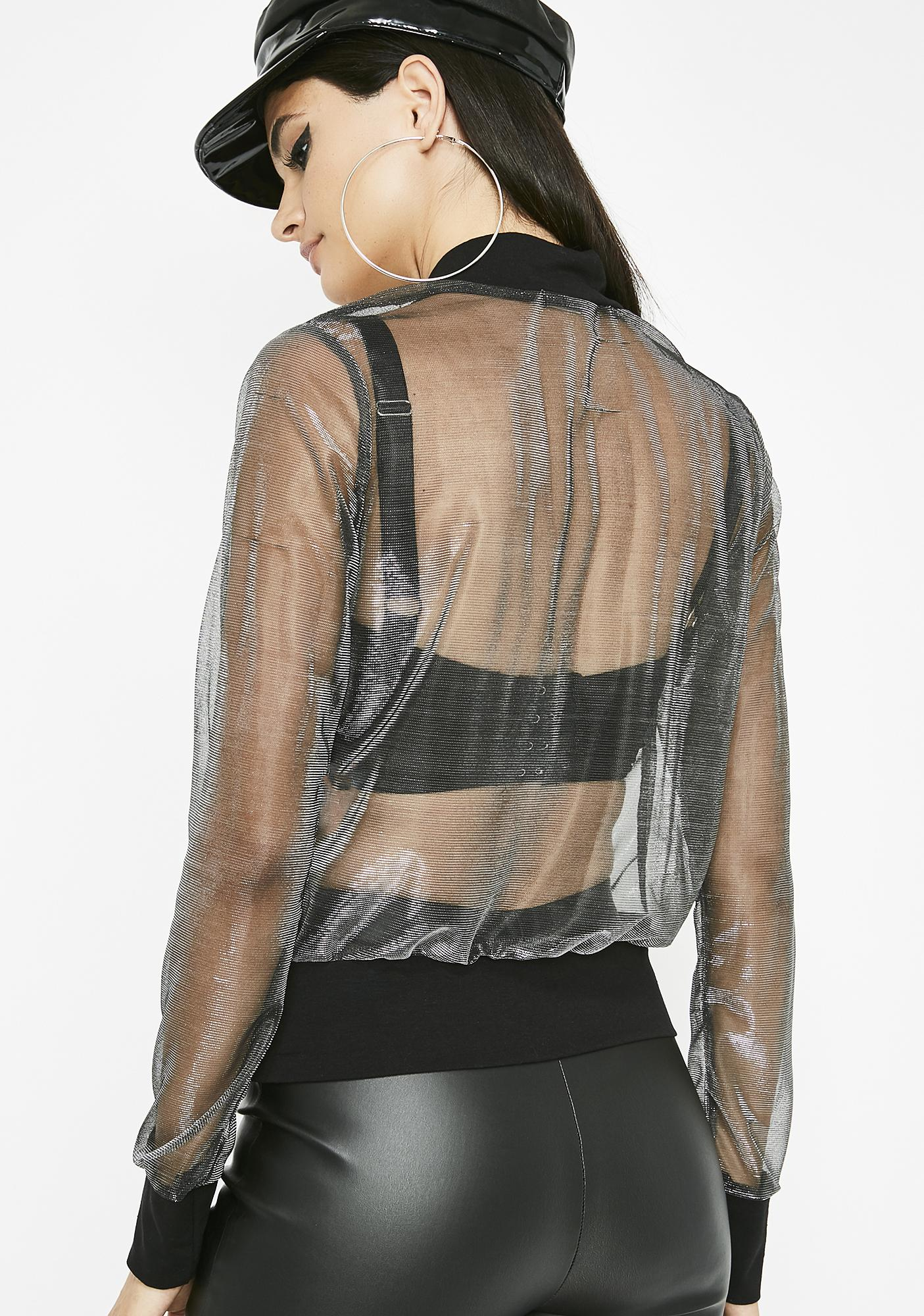 Better Than Revenge Sheer Jacket