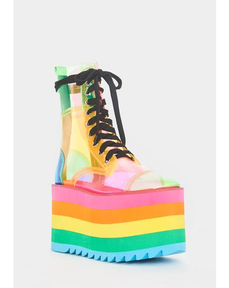 Prismatic Happy Daze Platforms
