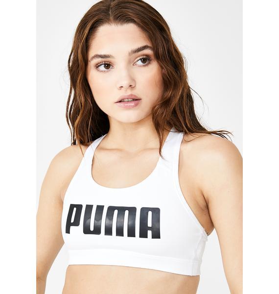 PUMA Puma White 4Keeps Bra