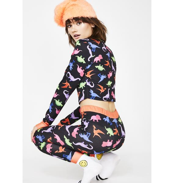 dELiA*s by Dolls Kill Dino-Mite Lounge Pants