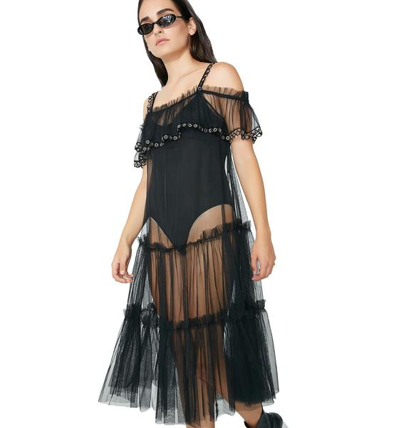 Glamorous All About You Sheer Dress