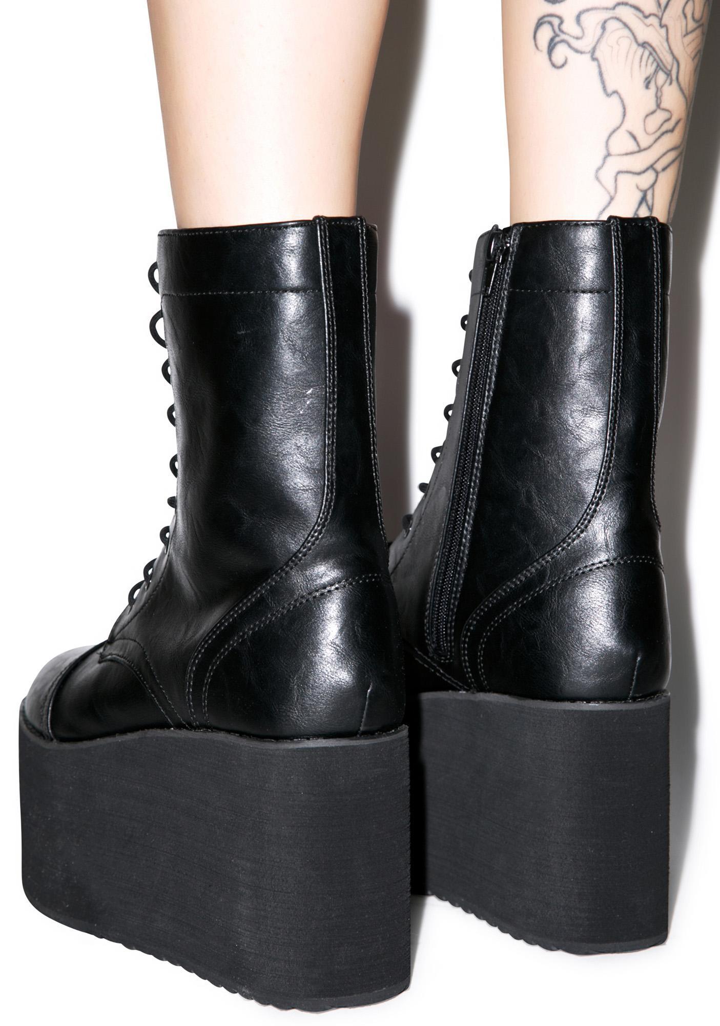Y.R.U. Tanq Platform Boots
