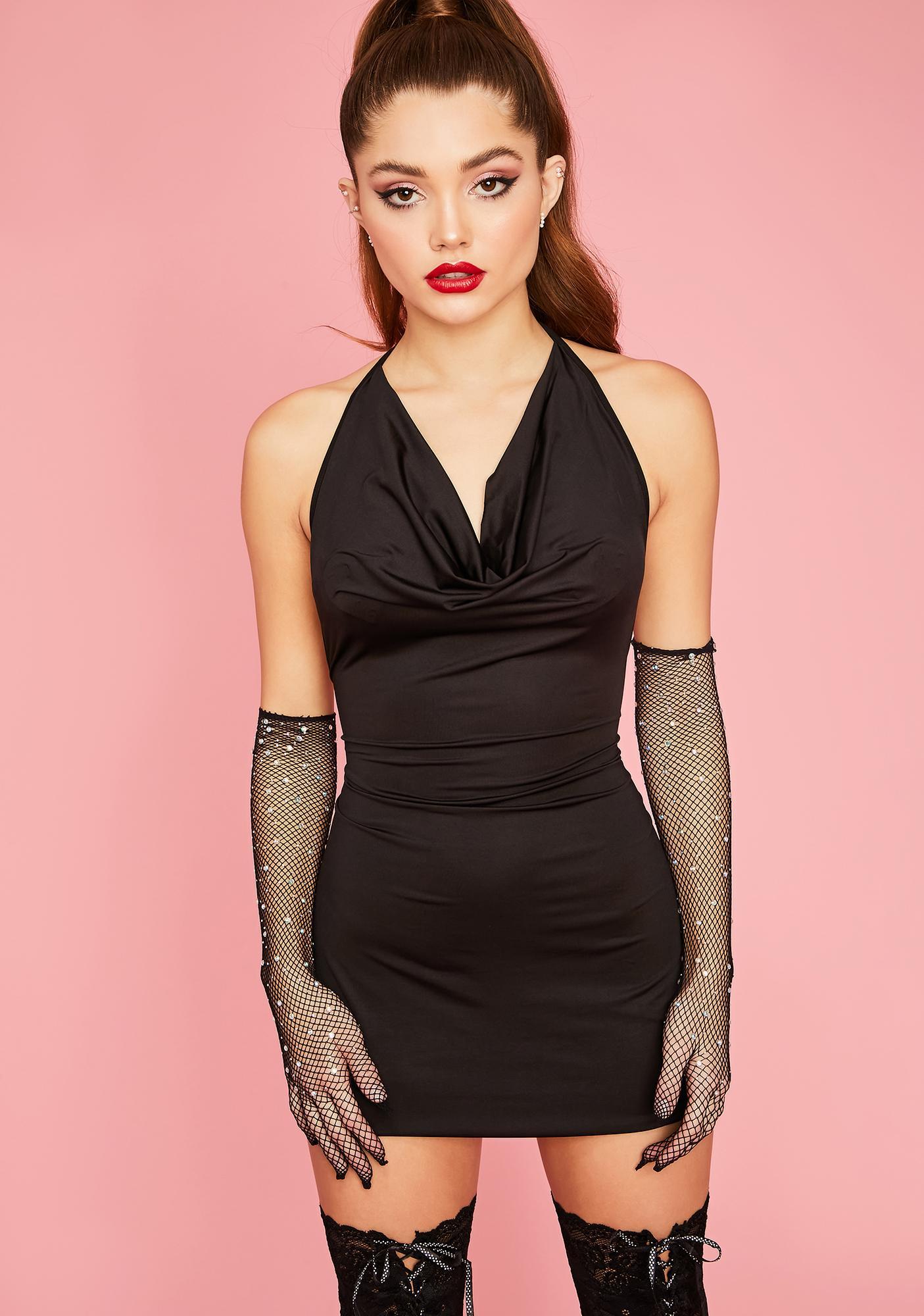 Vip Access Bodycon Dress