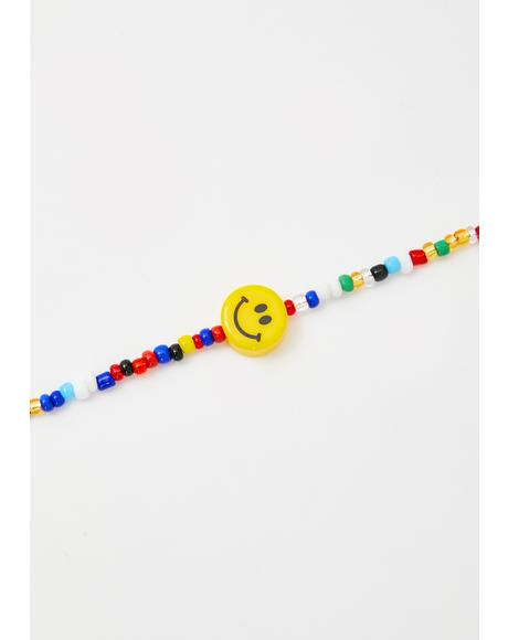 Joy Ride Beaded Choker
