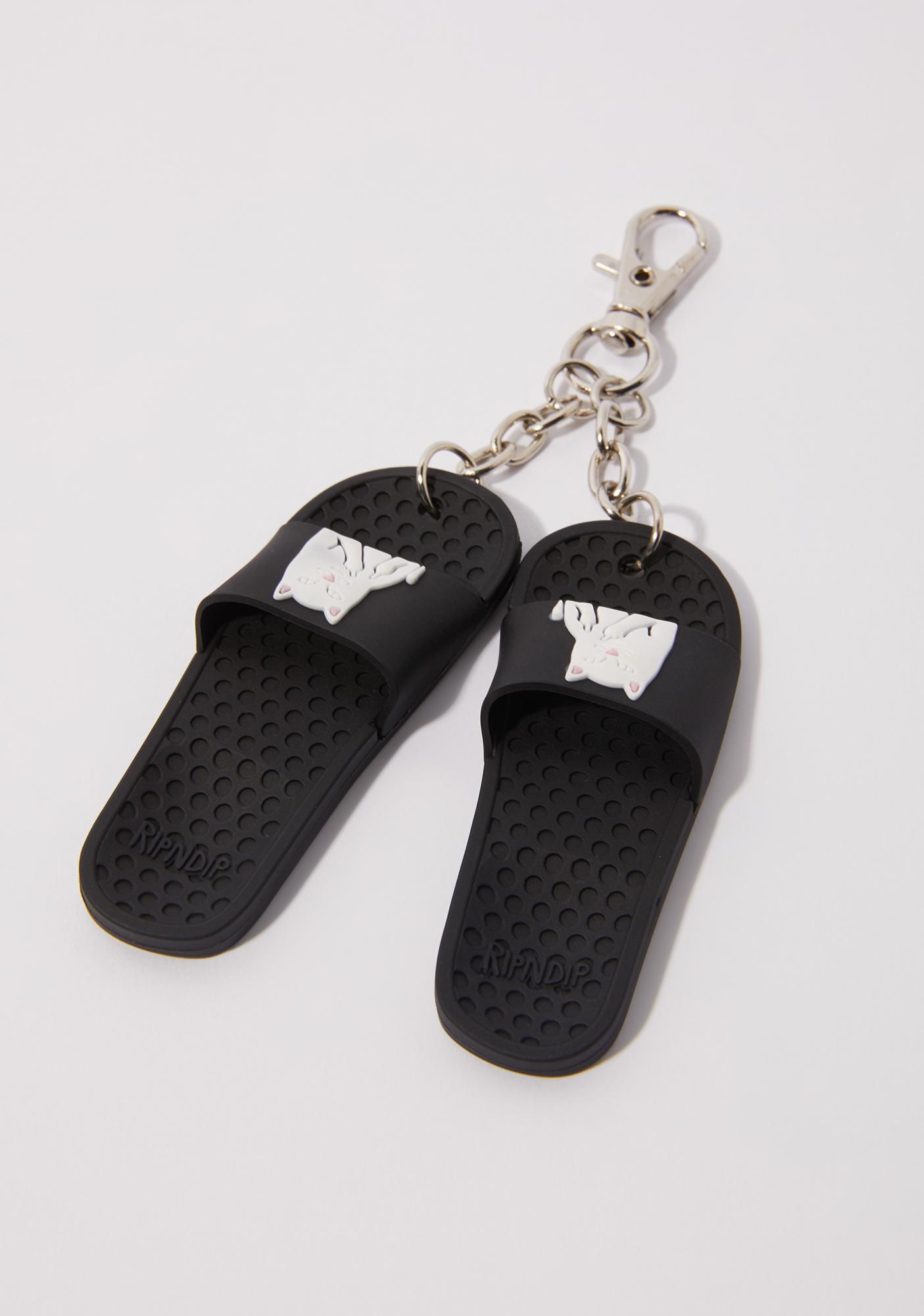 RIPNDIP Lord Nermal Mini Slides Keychain