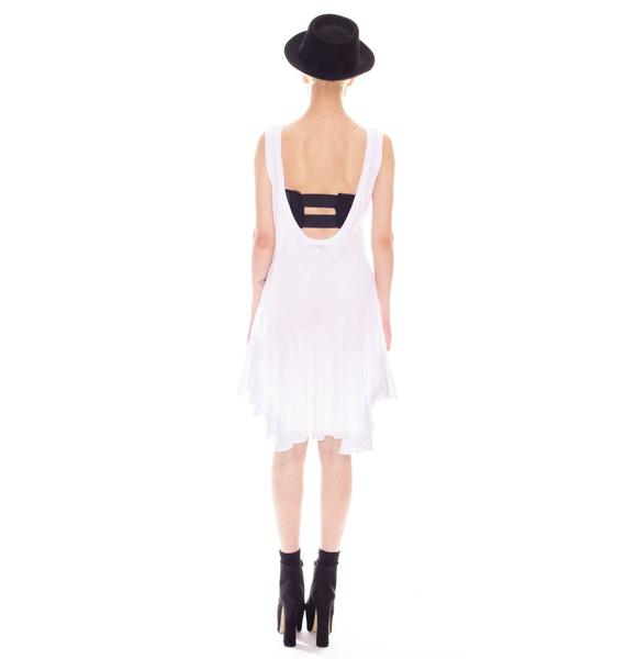 Wildfox Couture Simple Cross Poolside Dress