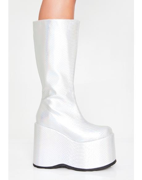 Arctic Rave Venom Platform Boots