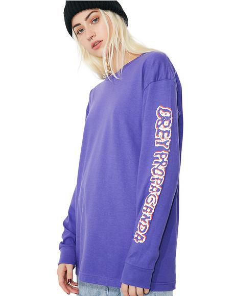 Public Opinion Basic Long Sleeve Tee