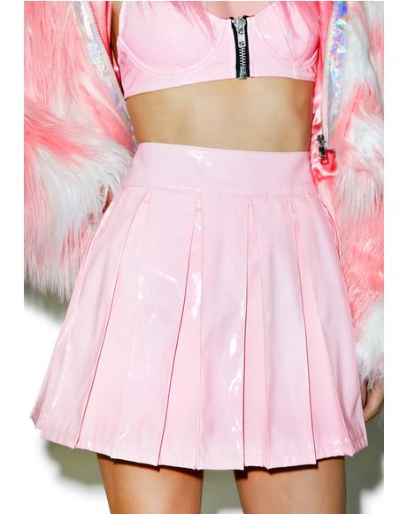 Princess Pastel Vinyl Skirt