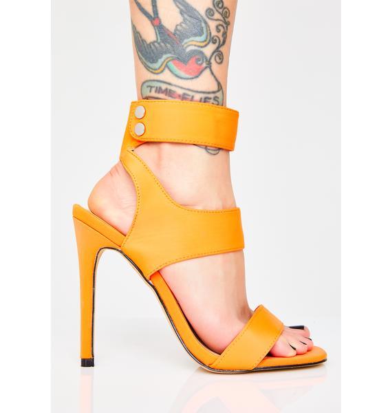 Public Desire Sunset Miami Mami Cutout Heels