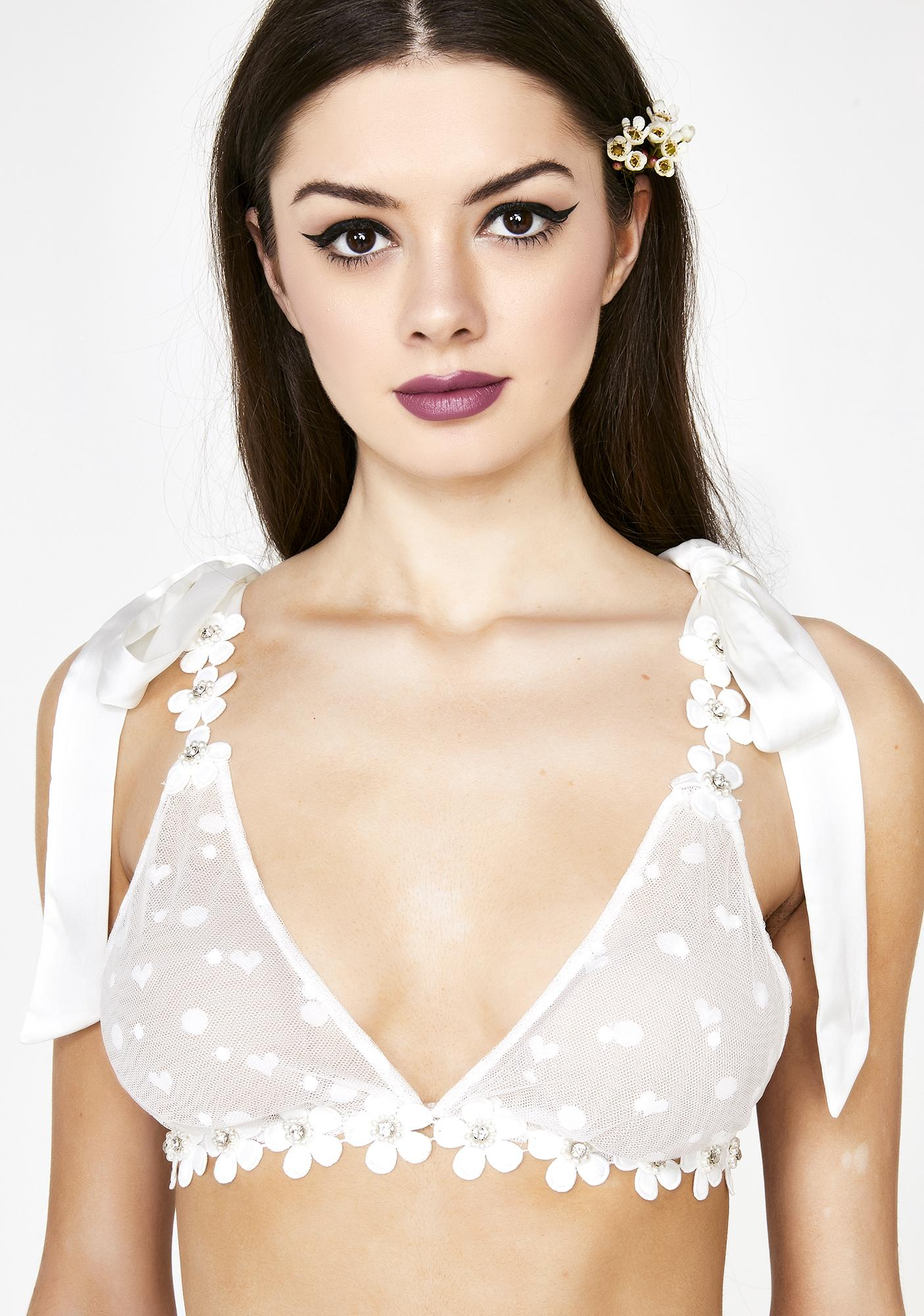 bd14e5eb61 ... For Love   Lemons Marguerite Tie Bra With Removable Dress ...