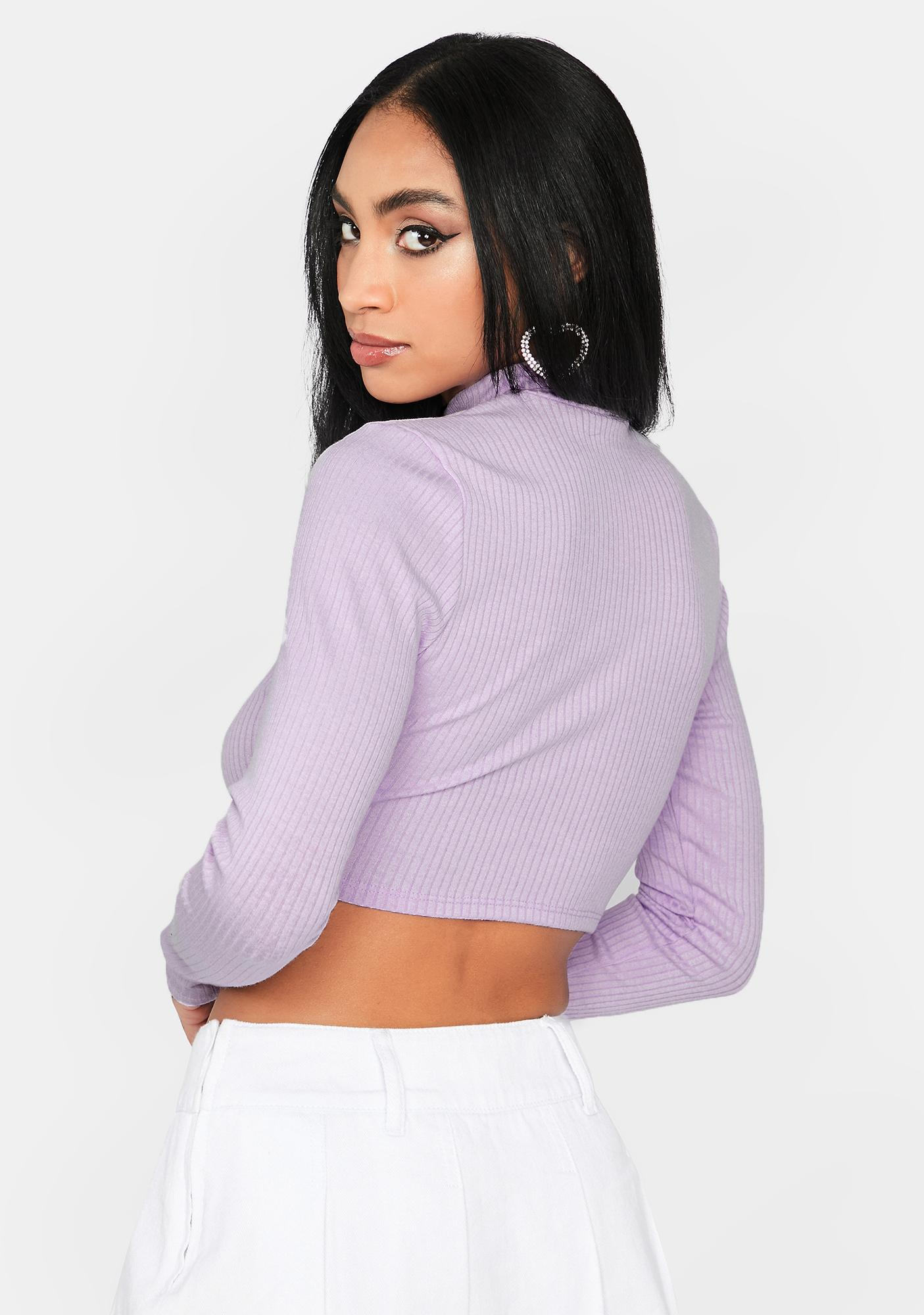 Level Gain Lace Up Top