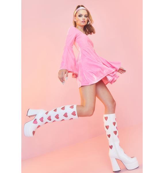 Sugar Thrillz Retro Romance Go Go Boots