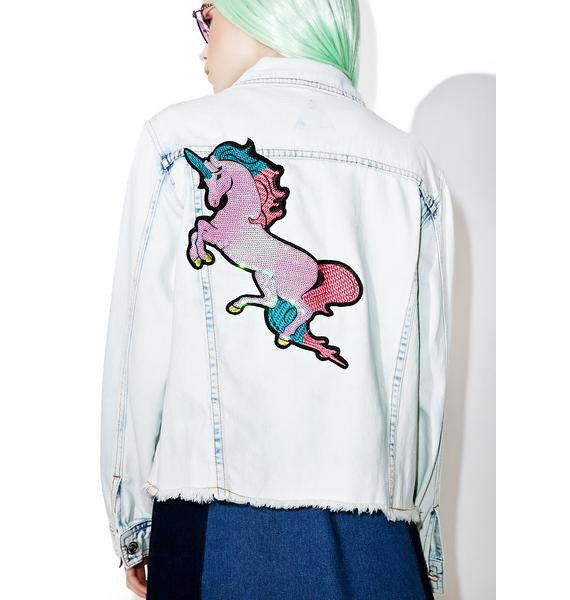 Mystic Maiden Denim Jacket