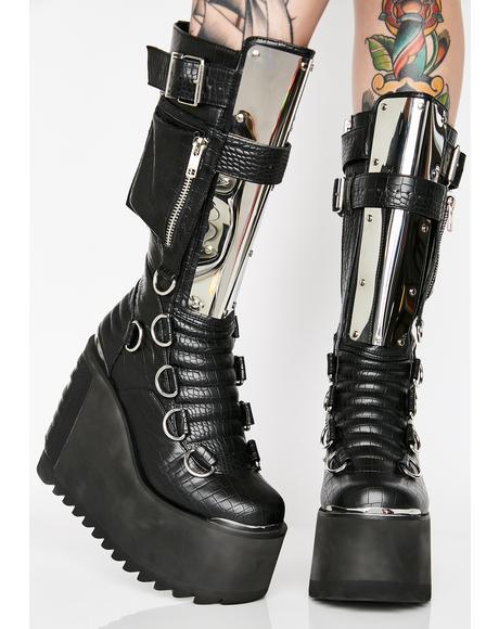 Immortal Soul Platform Boots