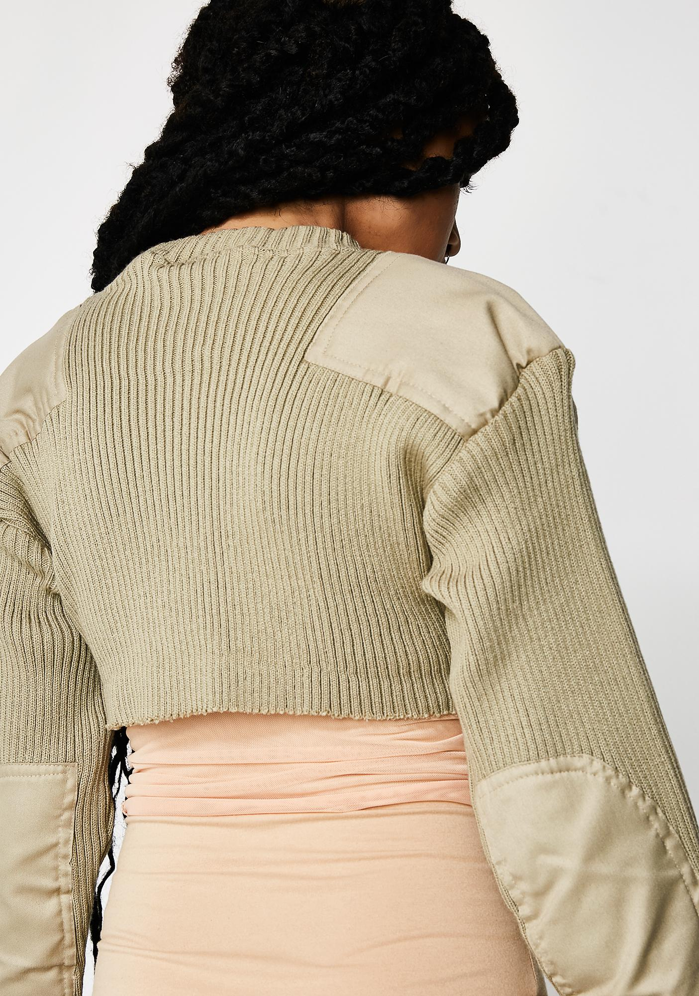 Plugged NYC Plugged NYC Knit Collection Crop