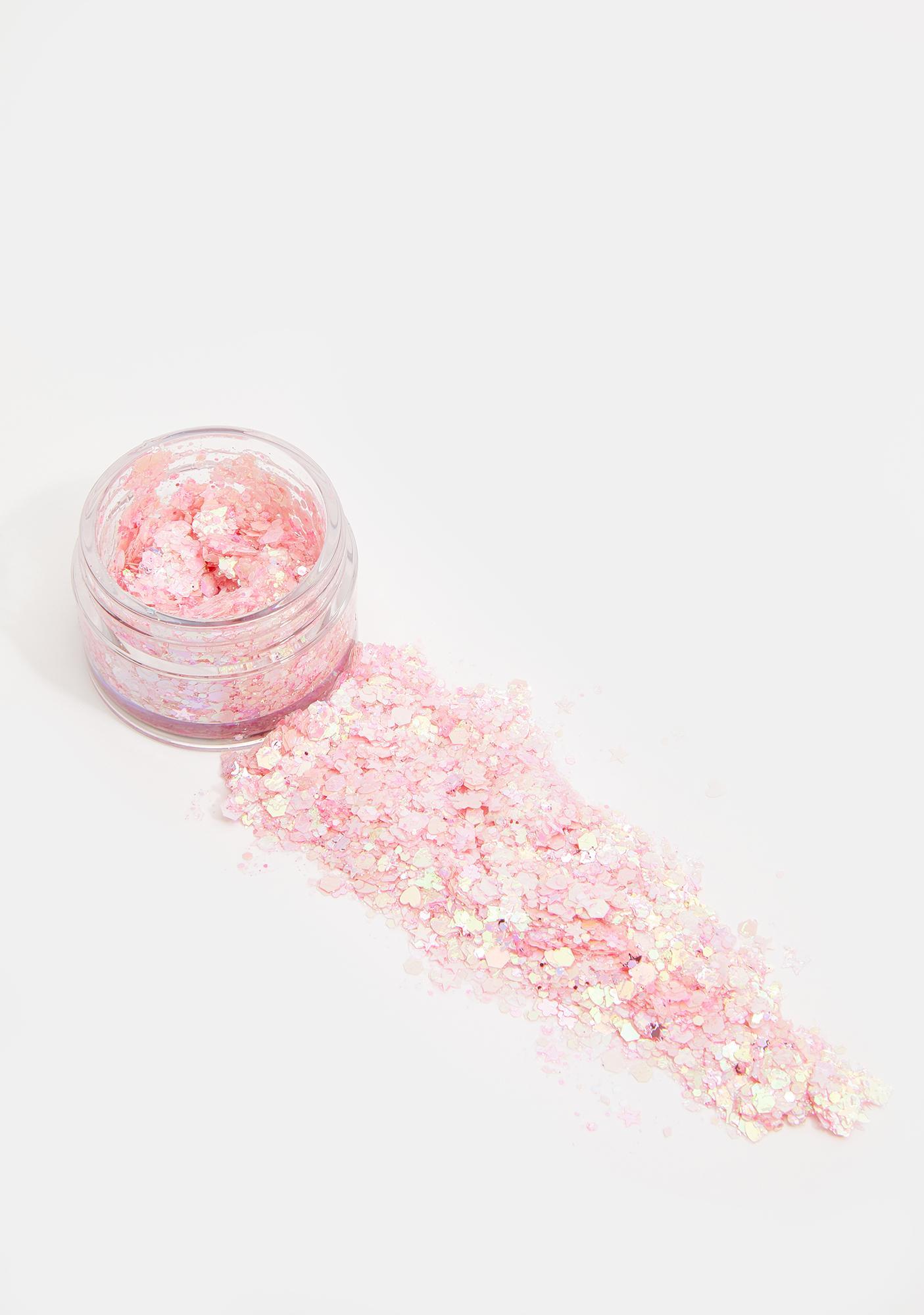 Uniglitter Cotton Candy Pink UV Unicorn Glitter Gel