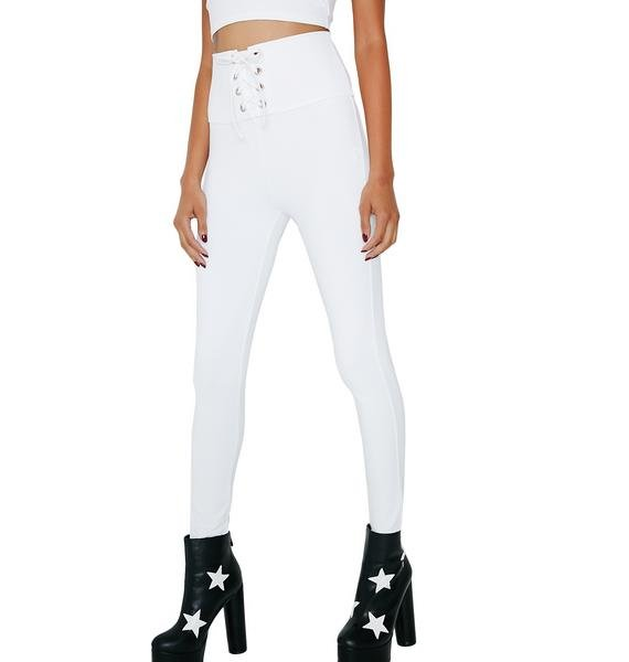 Do It To It Lace-Up Leggings