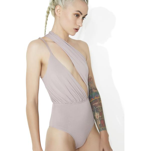 Smoke Soul Snatcher Asymmetrical Bodysuit