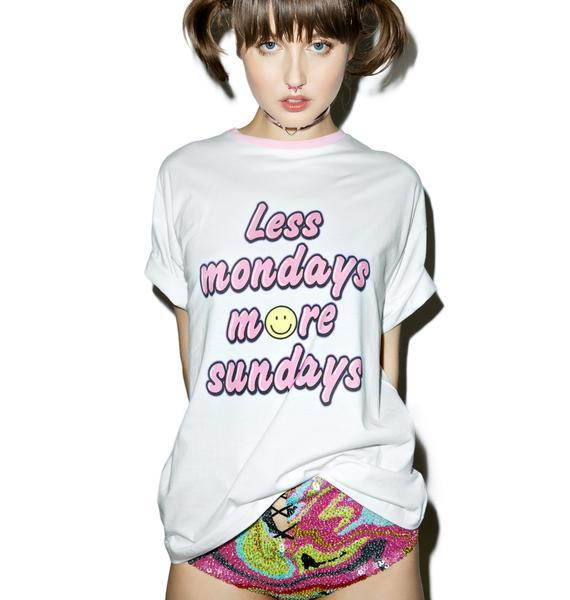 Sugarpills Less Mondays T-Shirt