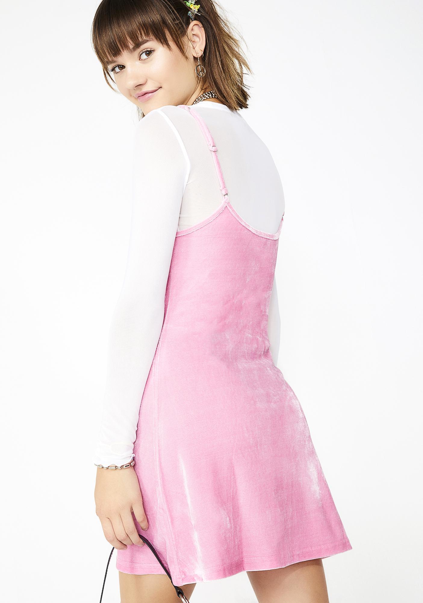 4d8bafa6ff5 ... dELiA s by Dolls Kill Cutie In Command Velvet Dress ...