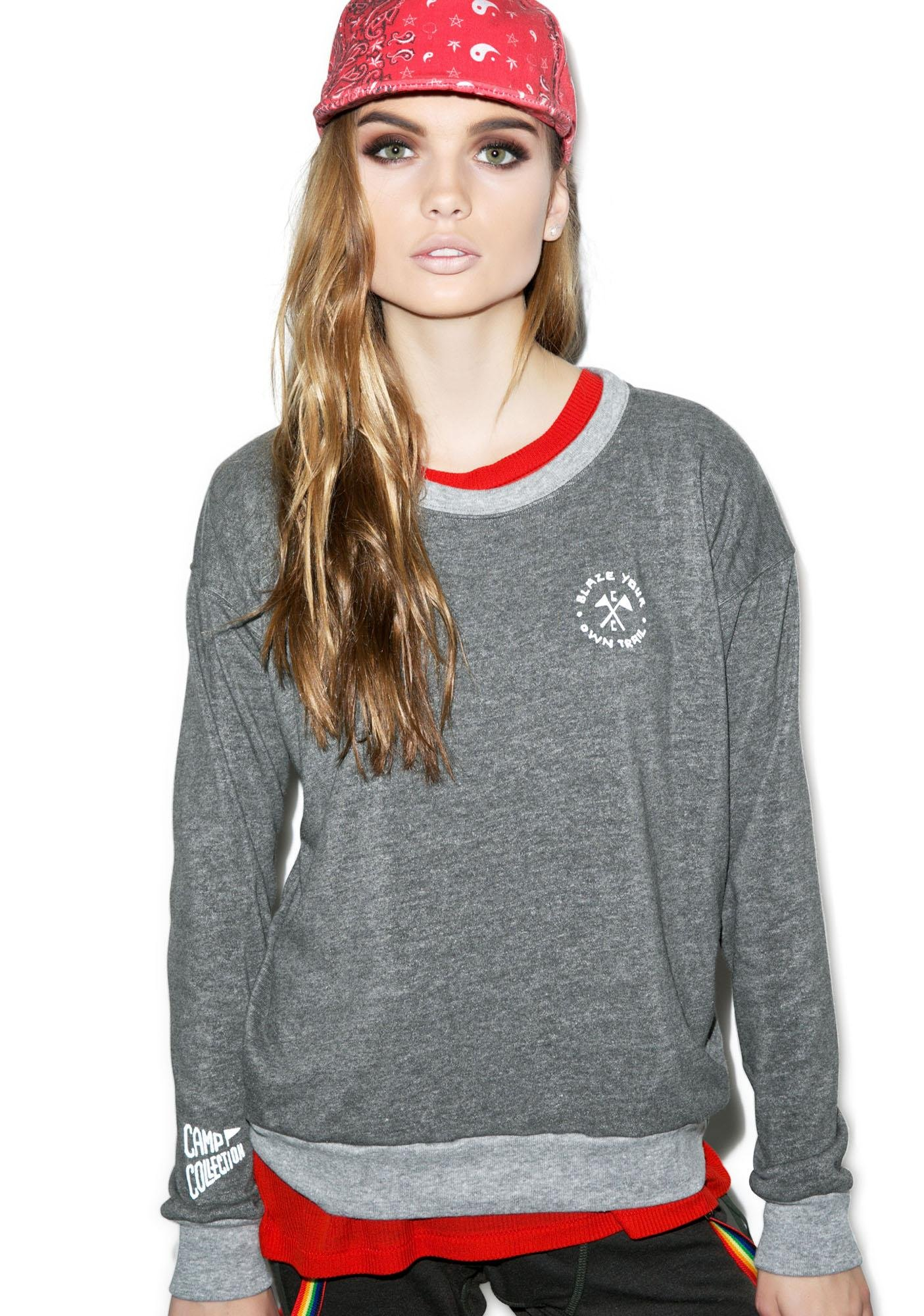 Camp Collection Blaze Your Own Trail Sweatshirt