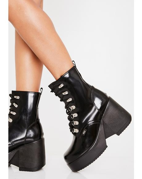 Pelham Wedge Boots