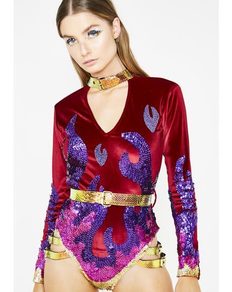 Dragon Tamer Harness Bodysuit