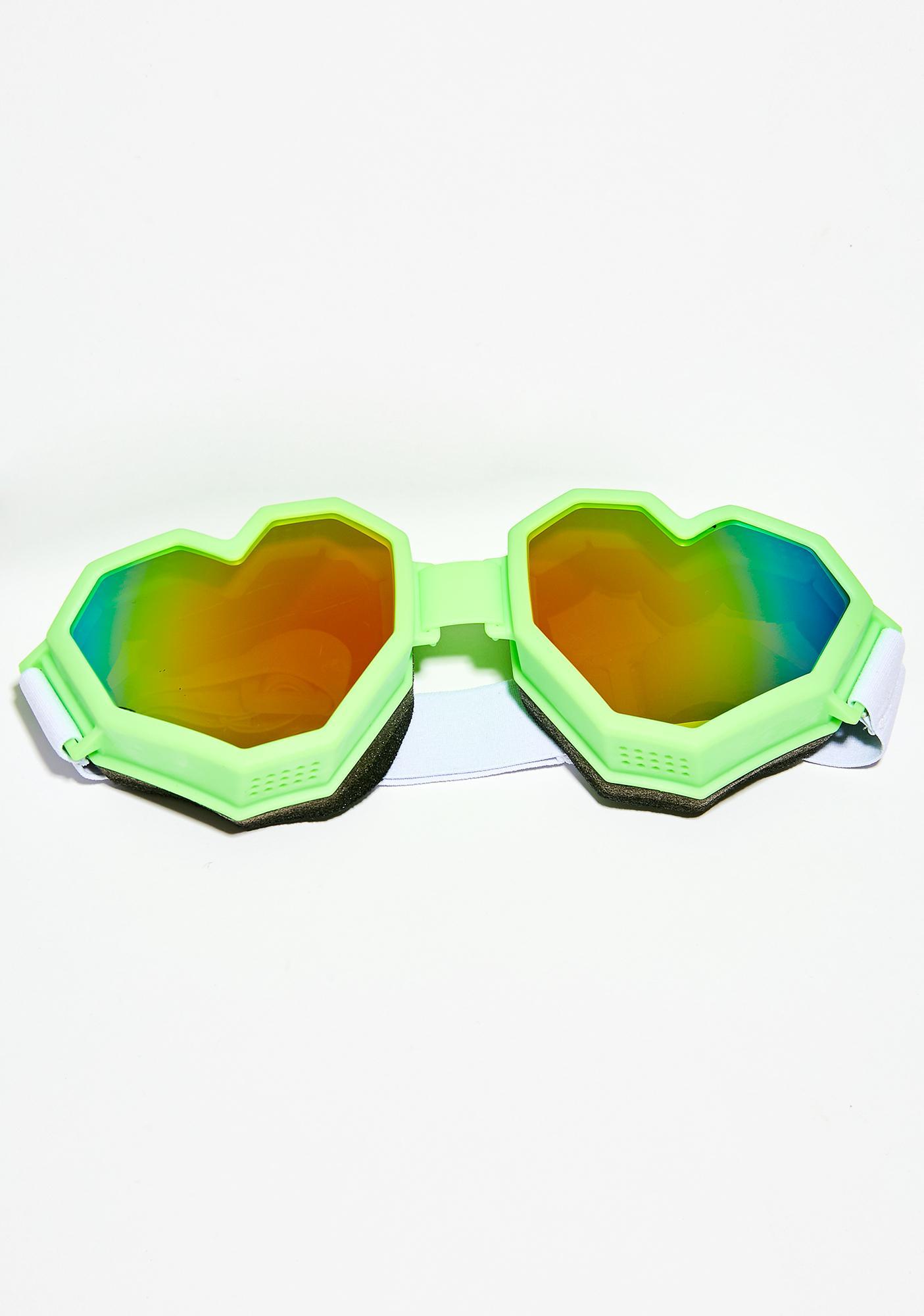 ESQAPE Slime Heart Gogglez