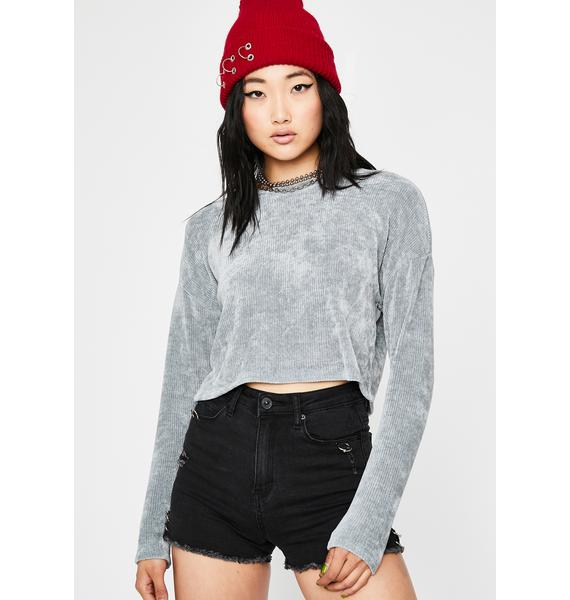 Softcore Trixx Crop Sweater