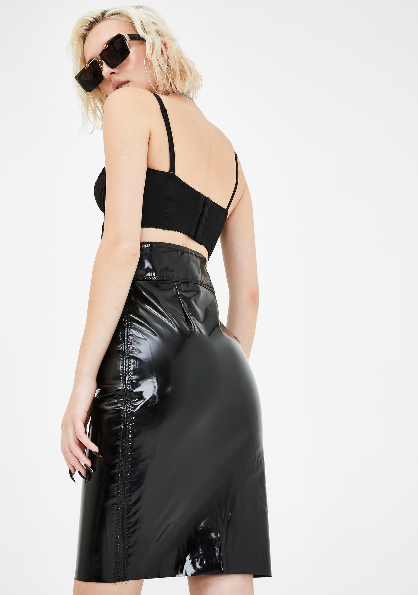 Kiki Riki Top Trendsetter Vinyl Skirt
