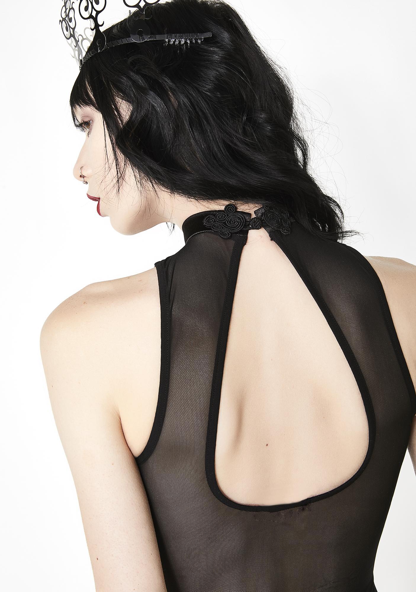 Sugar Thrillz Enchantress Velvet Bodysuit