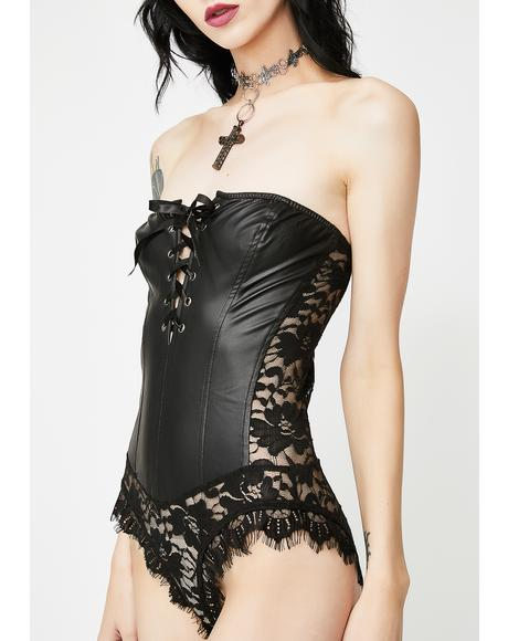 Nightly Etiquette Lace Bodysuit