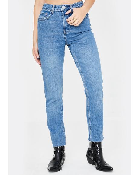 Dillon High Rise Vintage Wash Jeans
