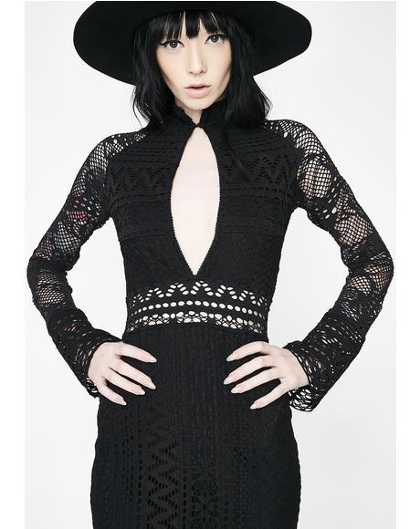 Evil Revenge Maxi Dress