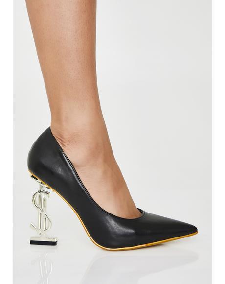 Priceless Stunt Pointed Heels