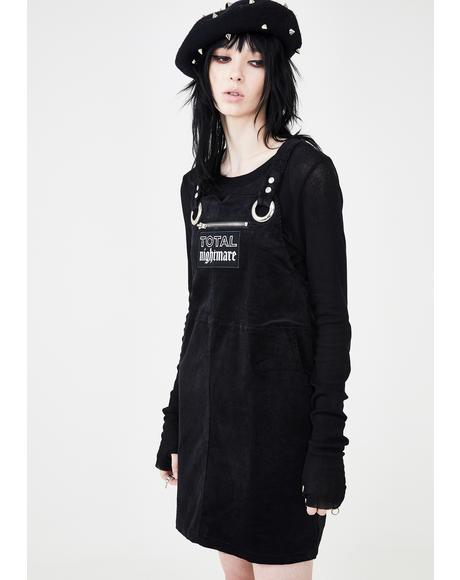 Total Nightmare Pinafore Dress