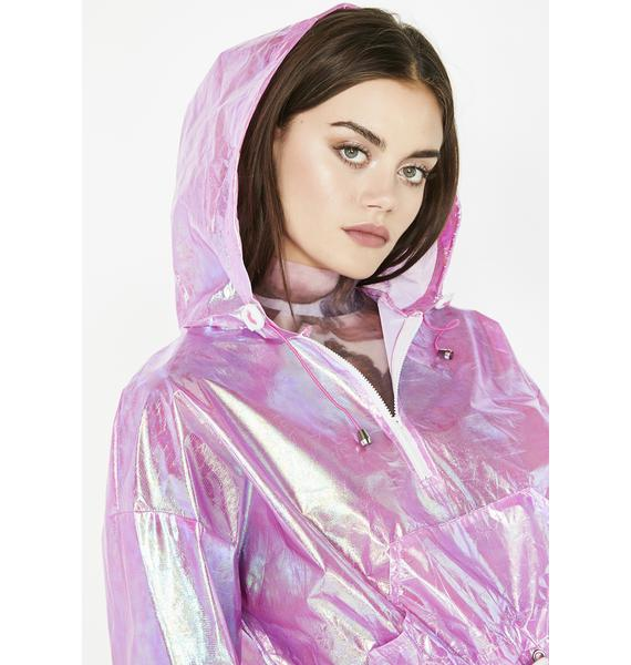 Candy Electric Slide Iridescent Jacket