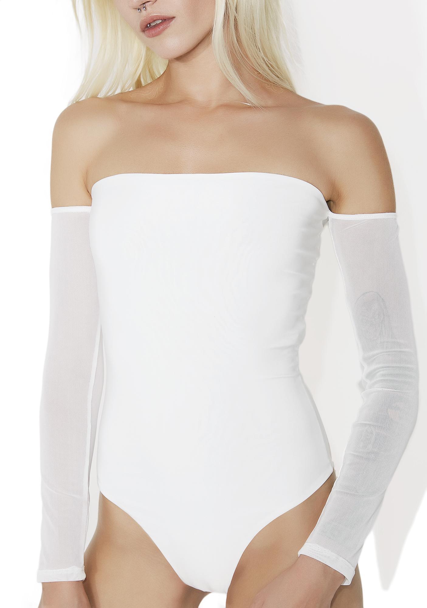 Sky High Off-Shoulder Bodysuit