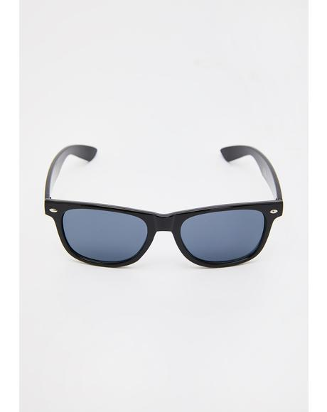 Born In Thorns Wayfarer Sunglasses