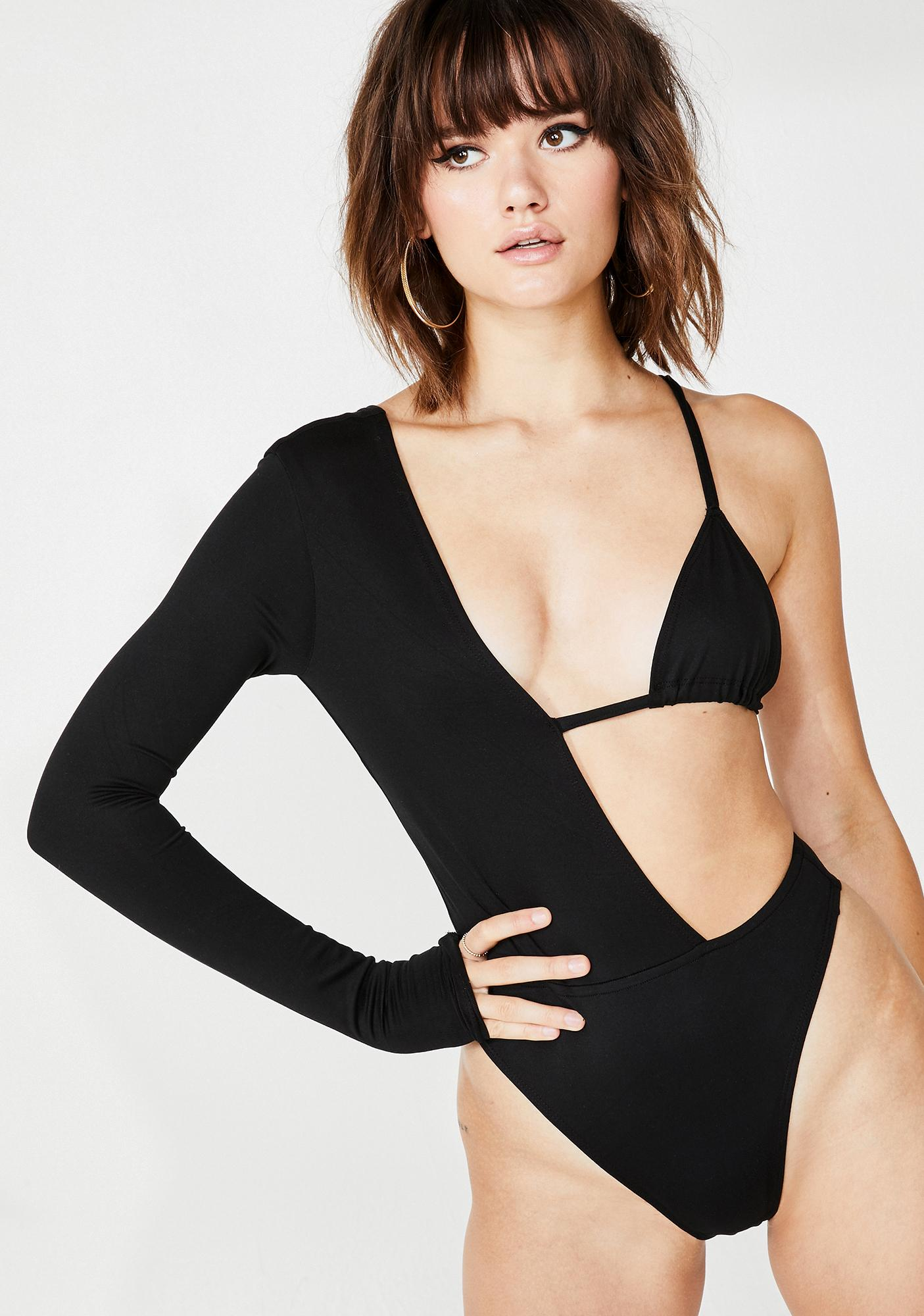Plugged NYC Hot N' Cold Bodysuit