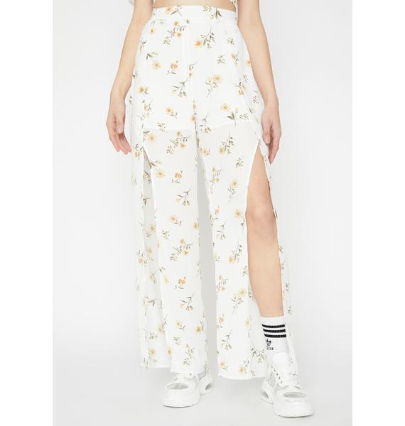Oh My Gloss Floral Pants