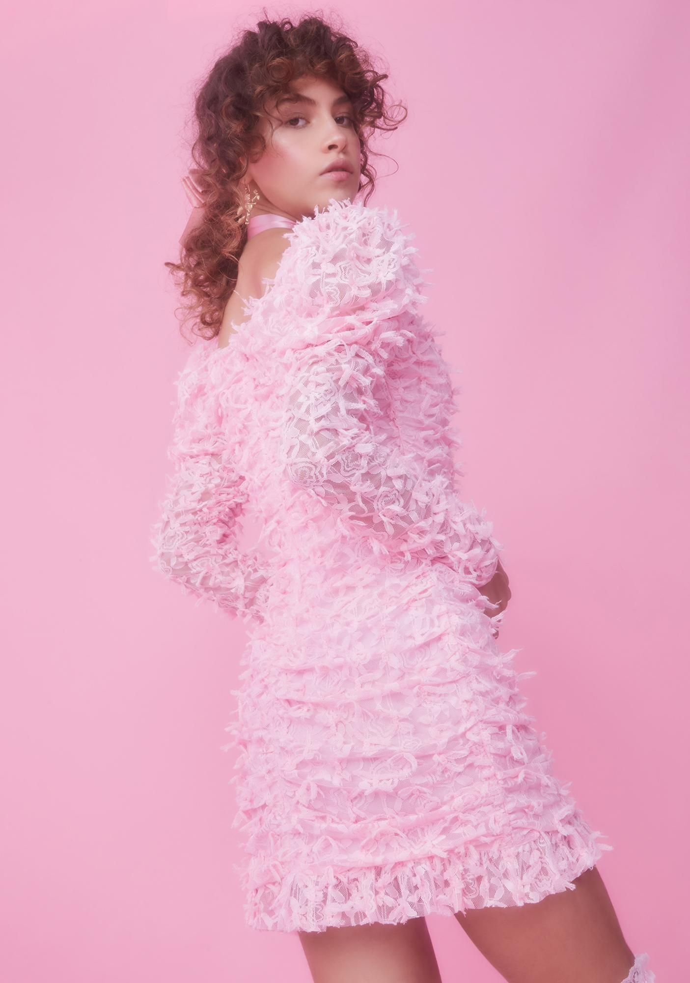 Sugar Thrillz Renaissance Romance Bow Mini Dress