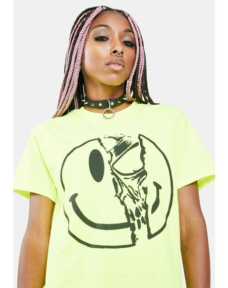 Killer Smiley Graphic Tee