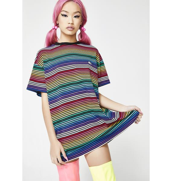 Lazy Oaf Somewhere Over The Rainbow Tee