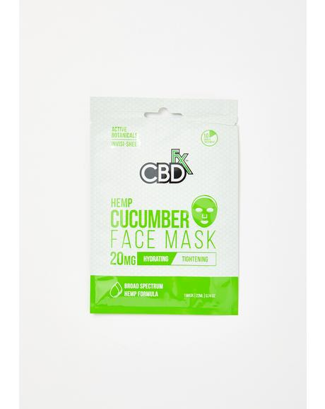 Cucumber CBD Face Mask